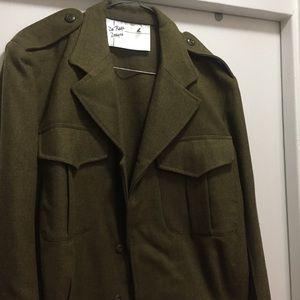 Vintage women's AUS army jacket